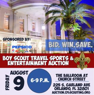Central Florida Council - 23rd Annual Travel Sports and